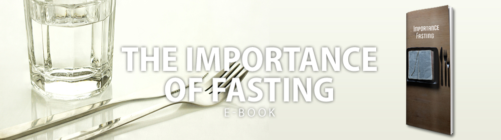 The Importance of Fasting eBook