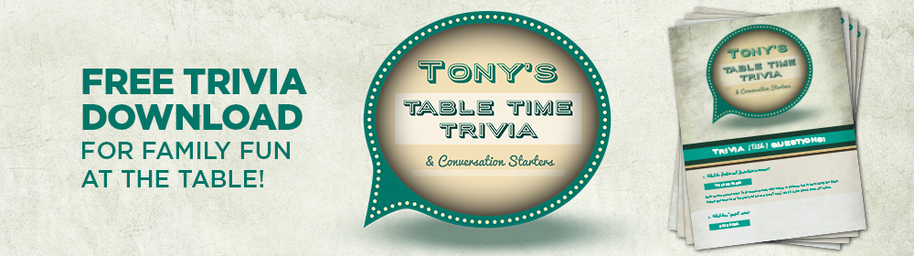 Free trivia download for family fun at the table.