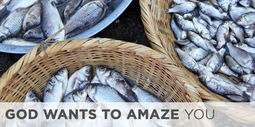 God Wants to Amaze You