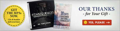 Consequences CD Series AND 30 Days to Overcoming Emotional Strongholds Booklet