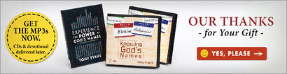 Knowing God's Names Volume 1 & 2 CD Series AND Experience the Power of God's Names Devotional