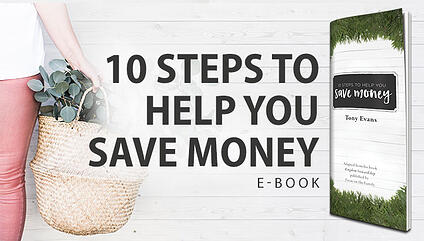10 Steps to Help You Save Money eBook