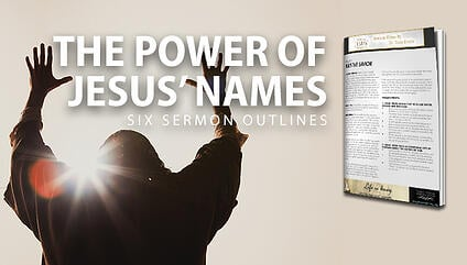 The Power of Jesus Names Sermon Outlines