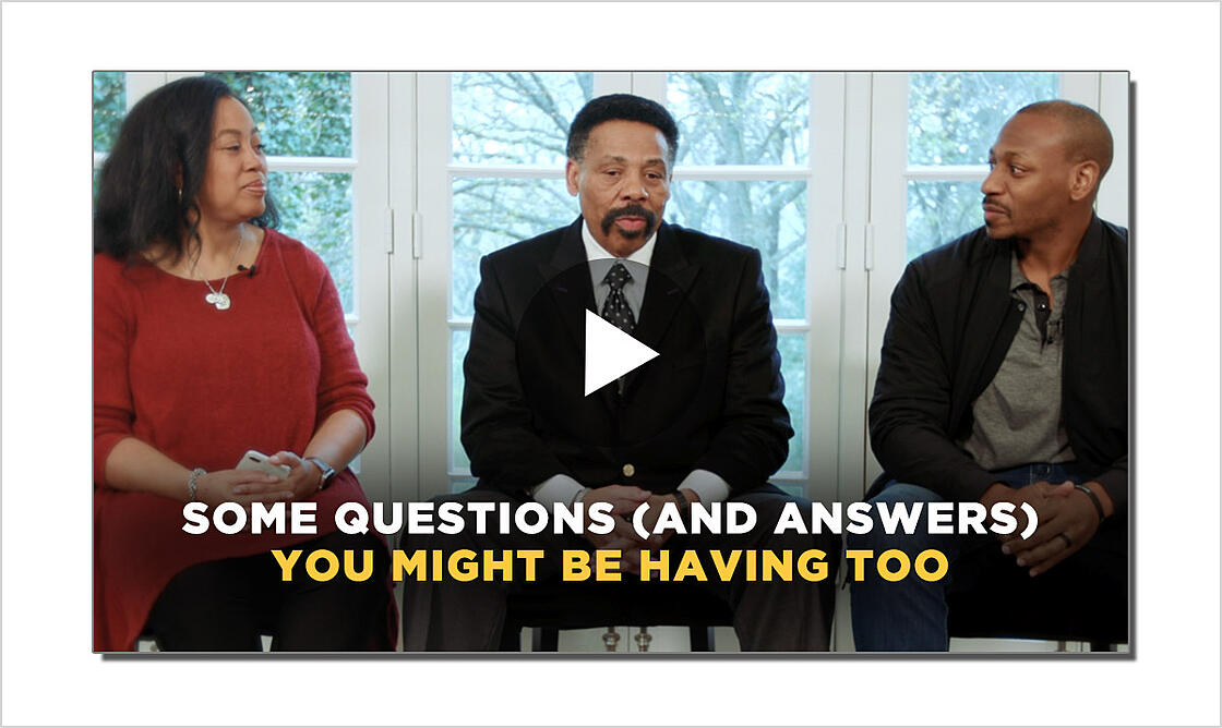WATCH: Tony Evans and His Family Share Hope During Coronavirus Crisis