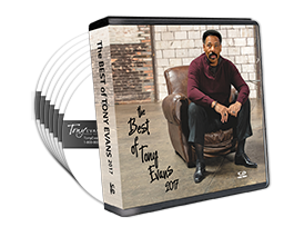 The Best of Tony Evans 2017 CD series