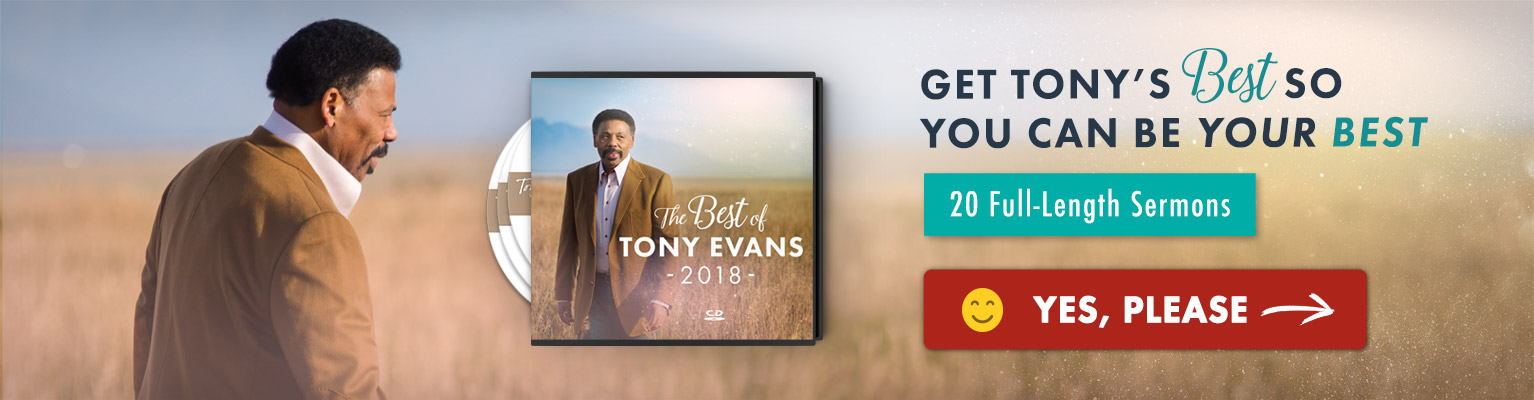 The Best of Tony Evans 2018 CD series