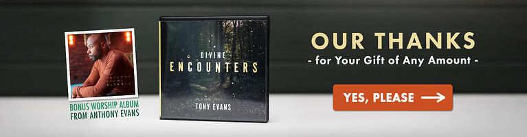 Divine Encounters CD Series & Anthony Evans Worship CD