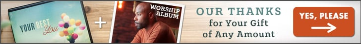Your Best You CD Series & Anthony Evans Worship CD