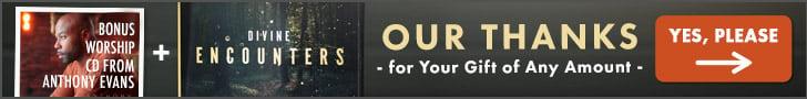 Divine Encounters CD Series & Anthony Evans Worship CD