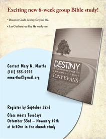 Destiny Bible Study