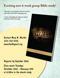 Elijah Bible Study