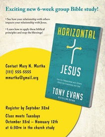Horizontal Jesus Bible Study