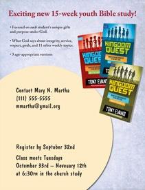 Kingdom Quest Bible Study