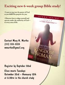 Bible Study Media for Kingdom Woman