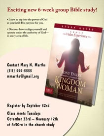 Bible Study Media for Kingdom Woman