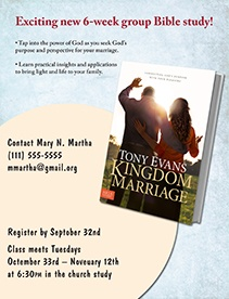 Kingdom Marriage Bible Study