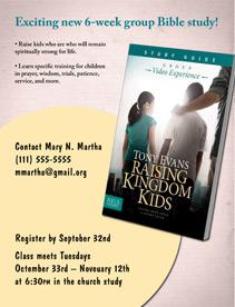 Bible Study Media for Raising Kingdom Kids