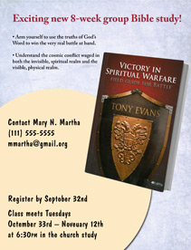 Warfare Bible Study