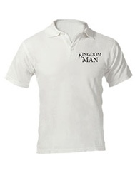 Kingdom Man Polo - White