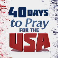 Pray for the USA for 40 Days
