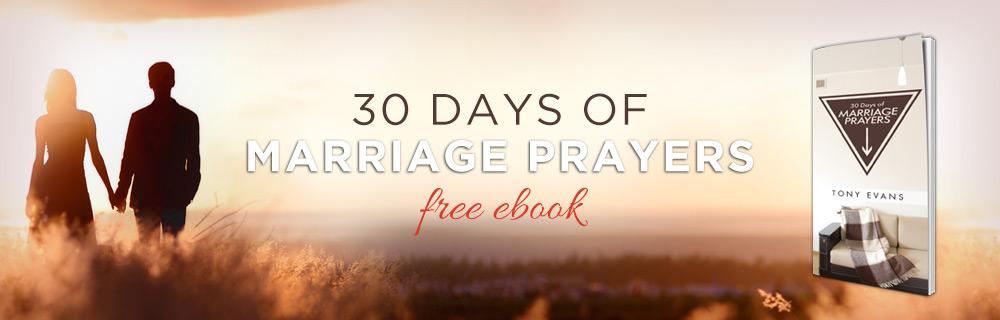 30 Days of Marriage Prayers FREE eBook