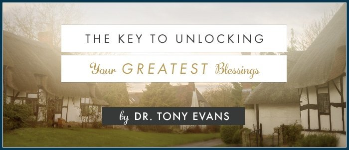 The Key to Unlocking Your Greatest Blessings