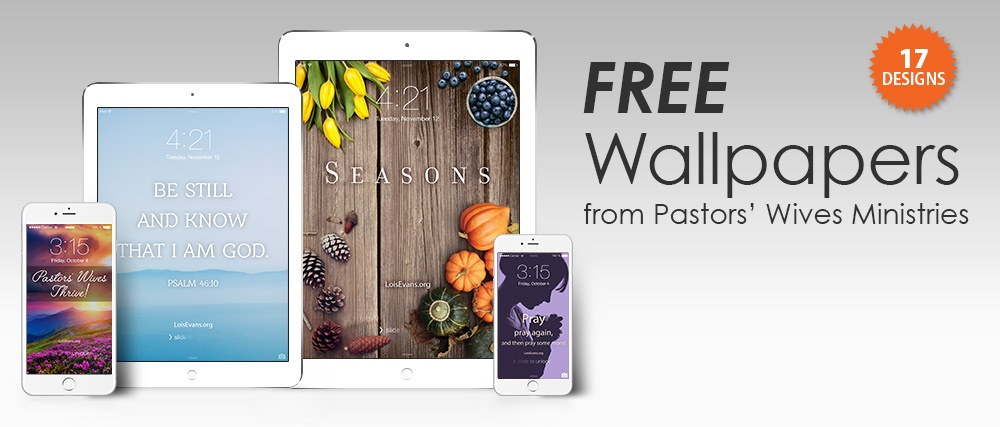 Free Wallpapers from Pastors' Wives Ministry
