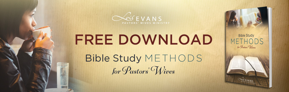 Bible Study Methods for Pastors' Wives from Lois Evans
