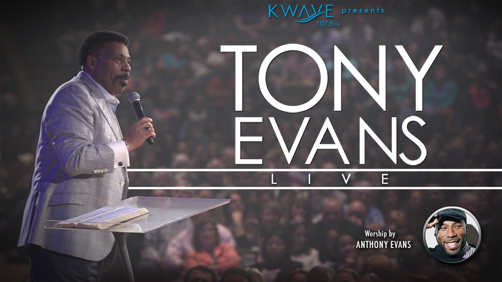 KWAVE presents Tony Evans Live with worship by Anthony Evans