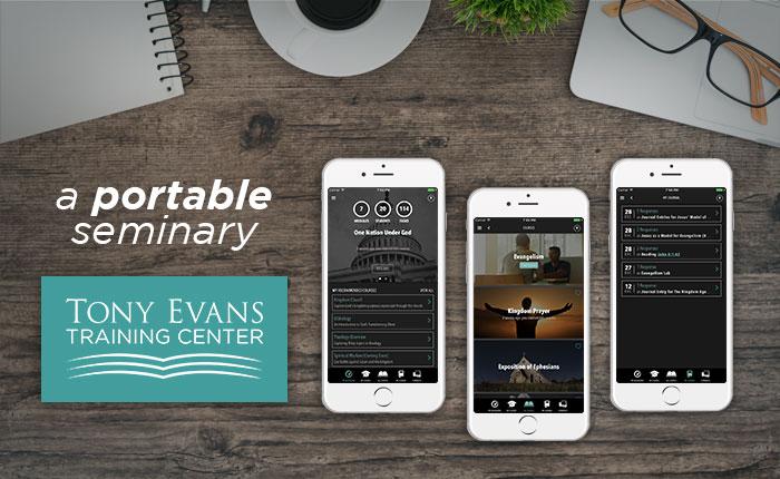 A portable seminary. Tony Evans Training Center.