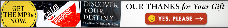 Called for a Purpose Volume 1 & 2 CD Series AND Destiny Book