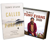 Best of Tony Evans 2020 CD Series AND 10 MP3 Downloads AND Called for a Purpose Devotional