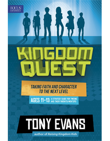 Kingdom Quest Strategy Guide for Ages 11-13 (BLUE)