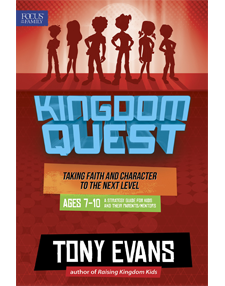 Kingdom Quest Strategy Guide for ages 7-10 (RED)