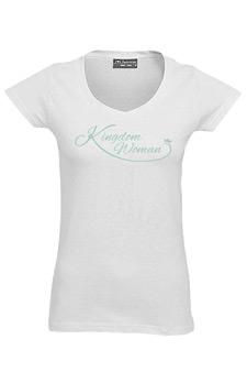 White Kingdom Woman T-Shirt - Large