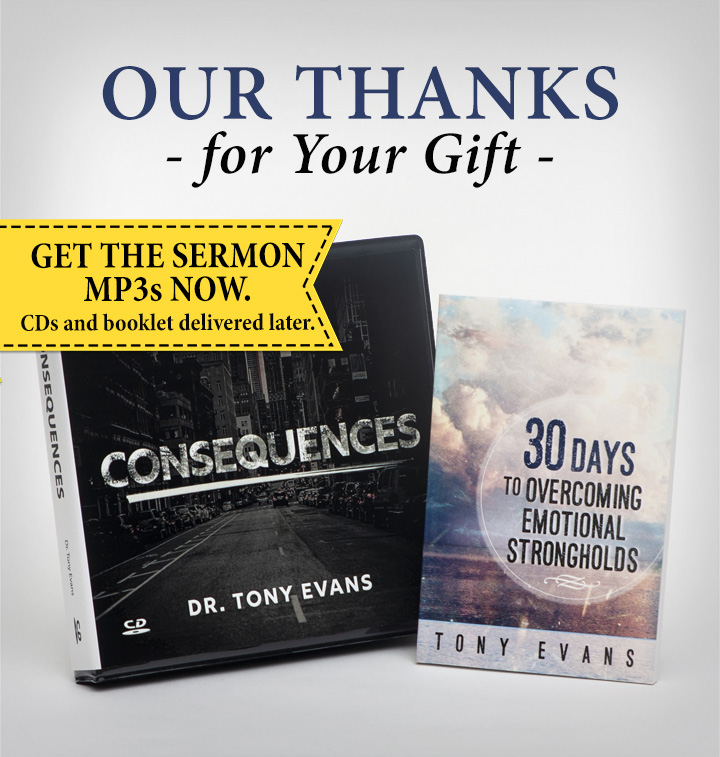 Consequences by Tony Evans