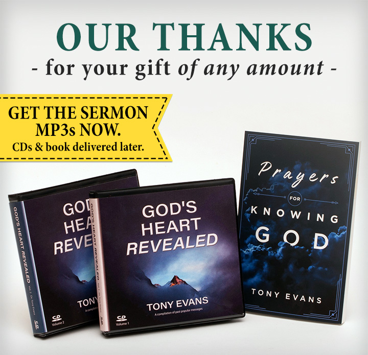 God's Heart by Tony Evans