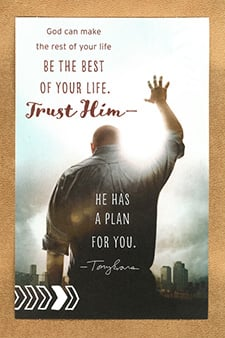 Father's Day Card (Any Dad) God can make the rest of your life