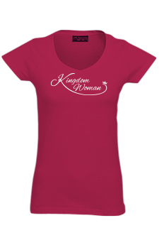 Fireberry Kingdom Woman T-Shirt:- XL