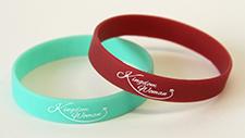 Kingdom Woman Printed Wristband - Lime Green