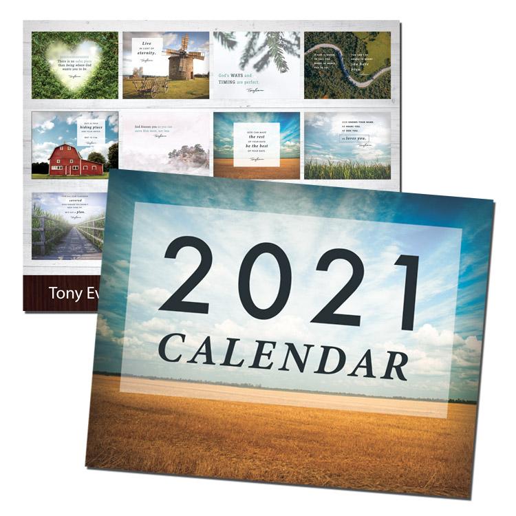Tony Evans Calendar