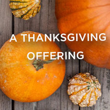 A Thanksgiving Offering - CD