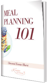 Meal Planning 101 eBook