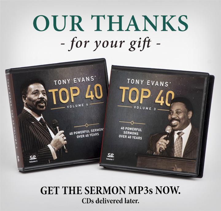 Tony Evans' Top 40 Sermons